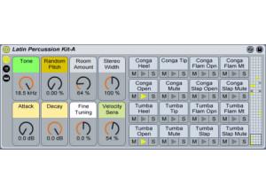 Ableton Latin Percussion