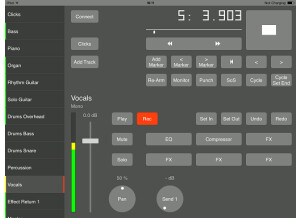 Bremmers Audio Design Multitrack Remote