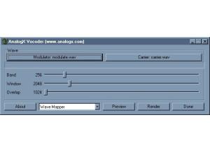 AnalogX Vocoder