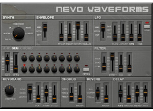 Samplephonics Nevo Analogue Machines