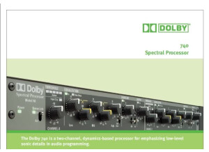 Dolby Spectral Processor model 740