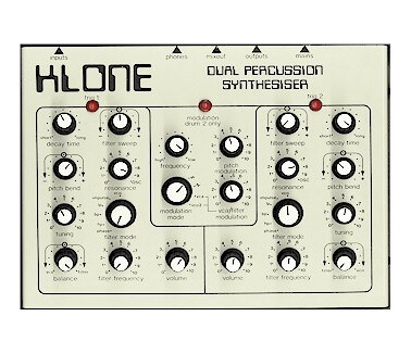 Honky Tonk Music Klone Dual Percussion Synth