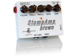 Officina Elettrica StompAmp brown