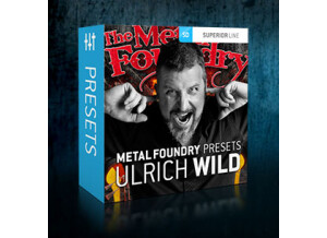 Toontrack Metal Foundry Presets - Ulrich Wild