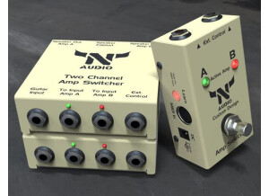 N-Audio Two Amps to Cabinet
