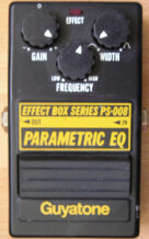 Guyatone PS-008 Parametric EQ