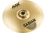 """Vends Sabian AAX Xplosion crash 18"""" en super état"""
