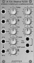 Doepfer A-106-1 Xtreme Lowpass/Highpass Filter