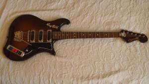 Hagstrom Condor Vintage Guitar Impala Corvette