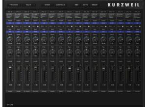 Kurzweil Artis Sound Editor
