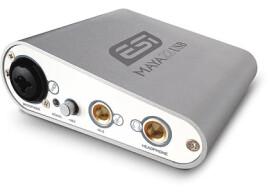 ESI ships the MAYA22 USB audio interface