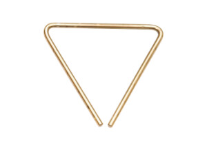 "Sabian Hand HAmmered B8 Bronze Triangle 7"""