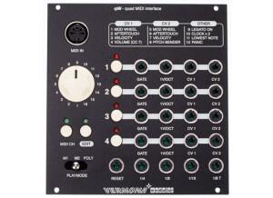 Vermona qMI - quad Midi interface