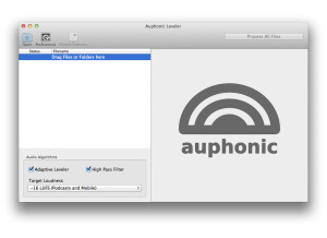 Auphonic Leveler