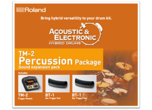 Roland TM-2 Percussion Package