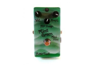 BJFe / BearFoot Mint Green Mini Vibe mkII Slow version