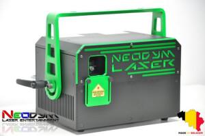 Neodym Laser Entertaiment Gravity Expert 2W Green