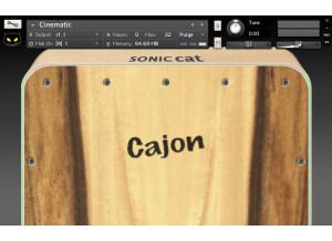 Sonic Cat Cajon