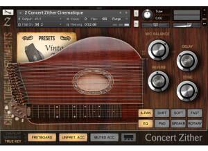 Cinematique Instruments Concert Zither
