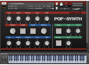 Sonic Cat Pop Synth