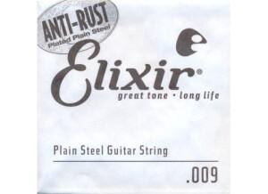 Elixir Strings Anti-Rust Single 13009 .009