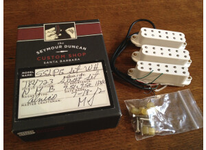 Seymour Duncan Custom Shop Pearly Gates Single-Coil-Sized Humbucker for Strat Set