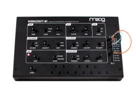 The Moog Werkstatt-01 available worldwide