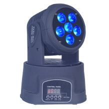 Power Lighting Lyre Wash 72W Hexa