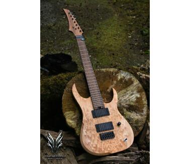 Hufschmid Guitars H7 Quilted Western Maple