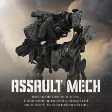 Bluezone Assault Mech - Robotic War Unit Sound Effects