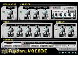 Opcode FUSION:VOCODE