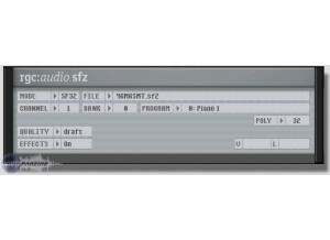 rgc:audio sfz [Freeware]