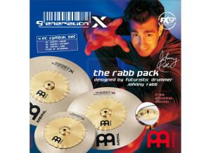 Meinl Generation X The Rabb Pack Cymbal Set