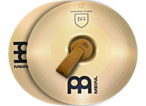 Meinl Professional Marching Cymbals B12 Pair 16""