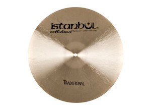 Istanbul Agop Traditional Dark Crash 18""