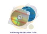 Pressage.EU Pressage CD - Pochette Plastique avec Rabat (& adhésifs)