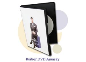 Pressage.EU Pressage DVD - Boîtier DVD Amaray (noir)