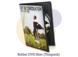 Pressage.EU Pressage DVD - Boîtier DVD Slim (Thinpack - noir)