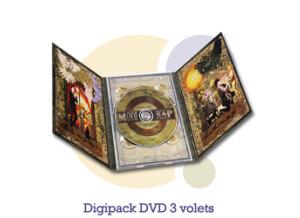 Pressage.EU Pressage DVD - Digipack DVD, 3 volets (6 pages)