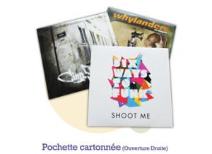 Pressage.EU Pressage DVD - Pochette Cartonnée