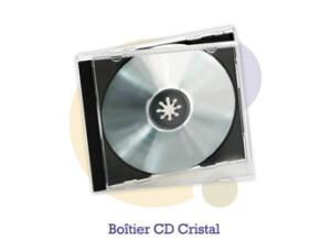 Pressage.EU Pressage DVD - Boîtier CD Cristal (Plateau opaque)