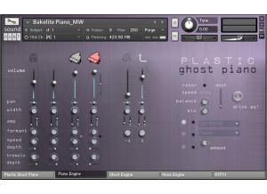 Sound Dust Plastic Ghost Piano