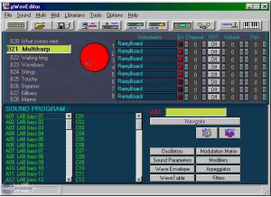 Soundtower Waldorf Microwave Editor