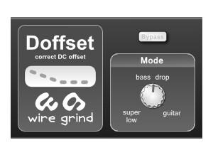 Wire Grind Doffset