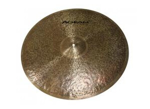 "Agean Cymbals Natural Ride Flat 18"""