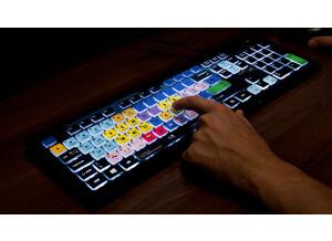 Editors Keys Backlit Shortcut Editing Keyboard