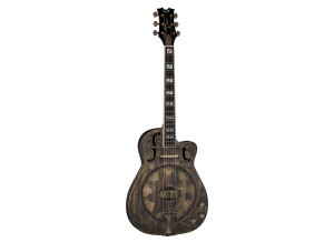 Dean Guitars Resonator Thin Body Electric CAW Brass