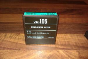 Yamaha VRC-106 DX7 voice ROM synthesizer group