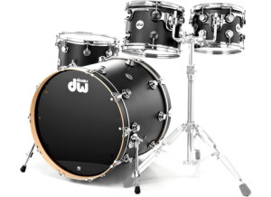 DW Drums Collector's Serie Ebony satin oil finish