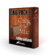 Fractal Audio Systems Cab Pack 6: Cabs in the Attic